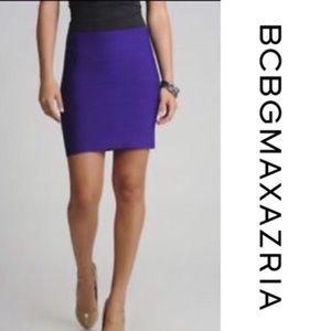 Purple BCBG bodycon skirt